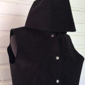 Ralph Lauren Vegan Shearling Vest